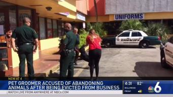 North Lauderdale Pet Groomer Accused of Abandoning Pets