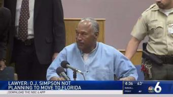 OJ Simpson Not Planning to Move to Florida, Lawyer Says