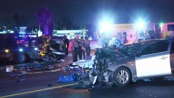 Officer Hospitalized After Crash on Dolphin Expressway