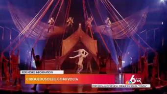 Performance Preview: Cirque Du Soleil's Volta