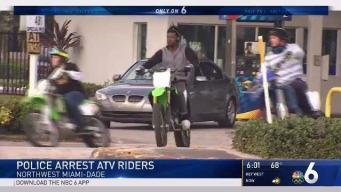 Police Arrest ATV Riders