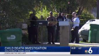 Police Investigating Death of 1-Year-Old in Miami-Dade