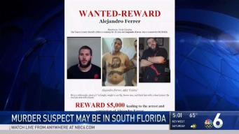 Police Searching for Murder Suspect Who May Be in South Florida