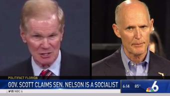 Politifact Florida: Scott Claims Nelson Is a Socialist
