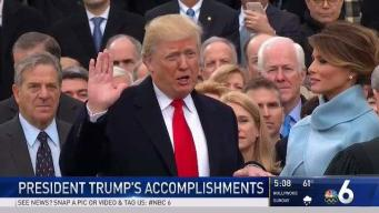 President Trump's First Year: A Look at His Accomplishments