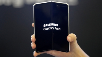 Samsung's Folding Phone Hits the US