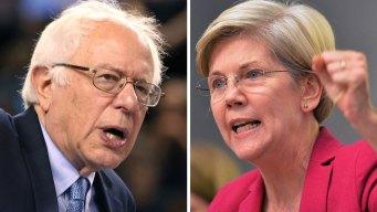 Bernie Sanders Floats Elizabeth Warren's Name for VP