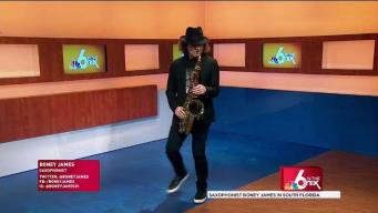 Saxophonist Boney James in South Florida