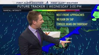 Second Cold Front Coming Toward South Florida