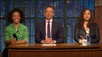 'Late Night': Jokes Seth Meyers Can't Tell