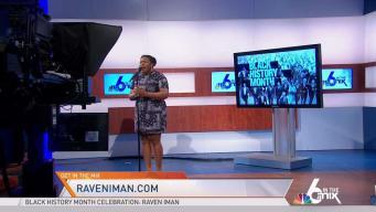 Singer Raven Iman