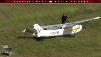 Small Plane Makes Crash Landing at Broward Airport