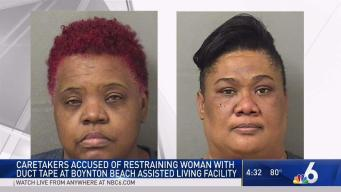 South Florida Caretakers Accused of Restraining Woman With Duct Tape