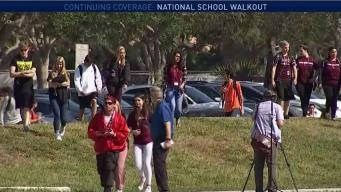 South Florida Schools Take Part in National Walkout