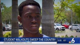 South Florida Students Participate in Walkouts