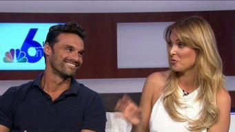 Stars of Telemundo's 'No Te Puedes Esconder' Talk Show