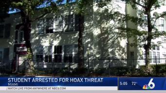 Student Arrested for Hoax Threat at Miami School