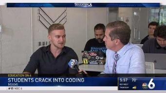 Students Crack Into Coding in Miami