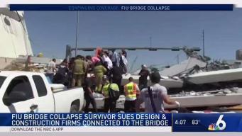 Survivor Files First Lawsuit in Miami Bridge Collapse