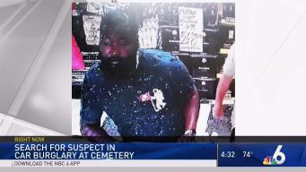 Suspect Wanted in Car Burglary at Miami-Dade Cemetery