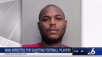 Suspect in Shooting of FIU Football Players Arrested