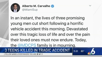 3 Teens Killed While Waiting For Bus to Tournament | NBC 6