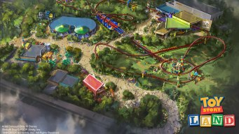 'Toy Story Land' to Open at Disney on Saturday