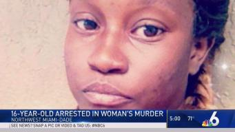 Teen Arrested in Murder of Woman in NW Miami-Dade