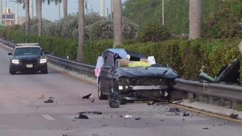 Teen Dies in High Speed Crash in Miami-Dade