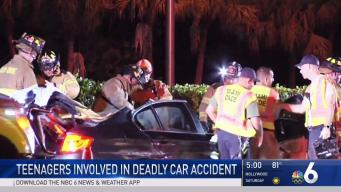 Teens Involved in Fatal Crash on Airport Expressway
