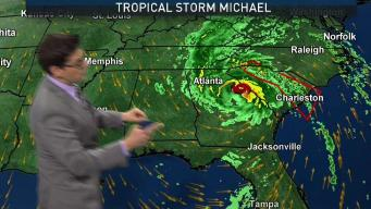 Tropical Storm Michael Update October 11th 5AM