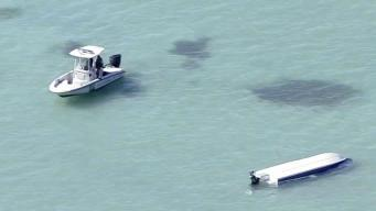 Two Boaters Missing After Capsized Vessel Found