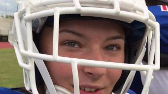 Local Teen Is First Female to Start as QB for HS Game