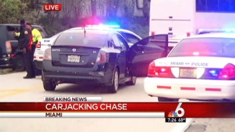 Armed Carjacker Apprehended After Chase in Miami