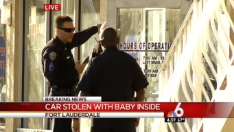 Car Stolen With Young Child Inside: Fort Lauderdale Police