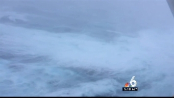 Cruise Ship Returning to New Jersey After Hitting Rough Seas