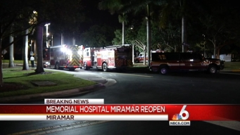 ER at Memorial Hospital Miramar Reopens