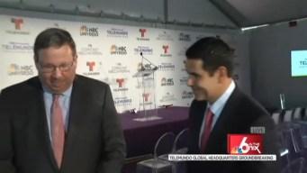 Telemundo Breaks Ground on New Headquarters