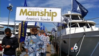 Marine Stadium Park Hosting 2016 Miami International Boat Show