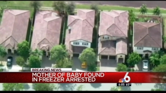 Mother Arrested in Death of Baby Found in Homestead Freezer