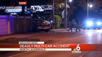 Juvenile Killed in Multi-Vehicle Crash in North Lauderdale: BSO