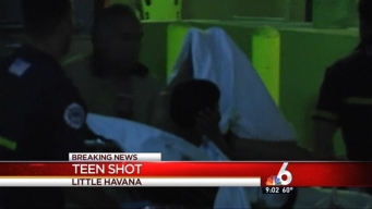 Teen Shot in Little Havana