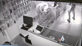 Robbers Sought in Hialeah Smash and Grabs