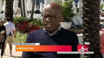#SOBEWFF: Al Roker Takes Over