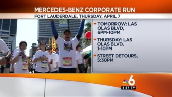 Mercedes-Benz Corporate Run Closures