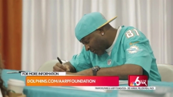 Miami Dolphins and AARP Feed a Million Drive