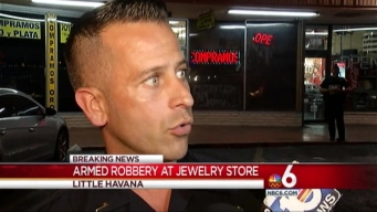 Armed Robbery at Jewelry Store in Little Havana: Police