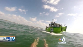 Keith Jones Experiences Water Rescue With MDFR