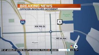 7 Hurt in Officer-involved Crash