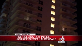 Fire Reported at High Rise in Fort Lauderdale